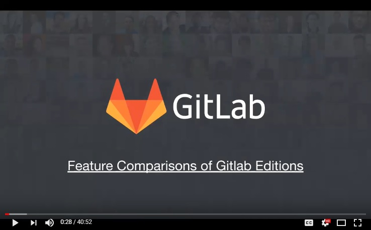 gitlab enterprise comparison